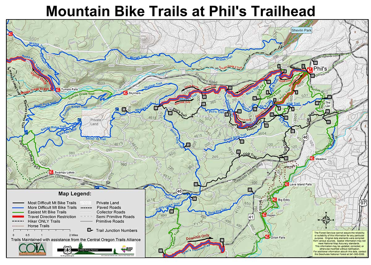 Storm King State Park Trail Map - Bend trail maps