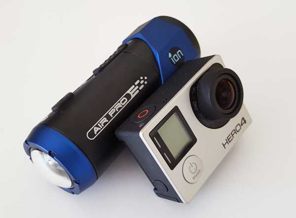 ION Air Pro Lite Camera vs GoPro