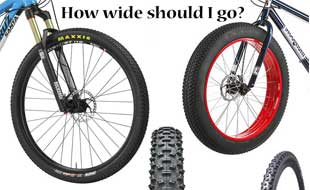 Choosing the Right Tire Width for your Mountain Bike