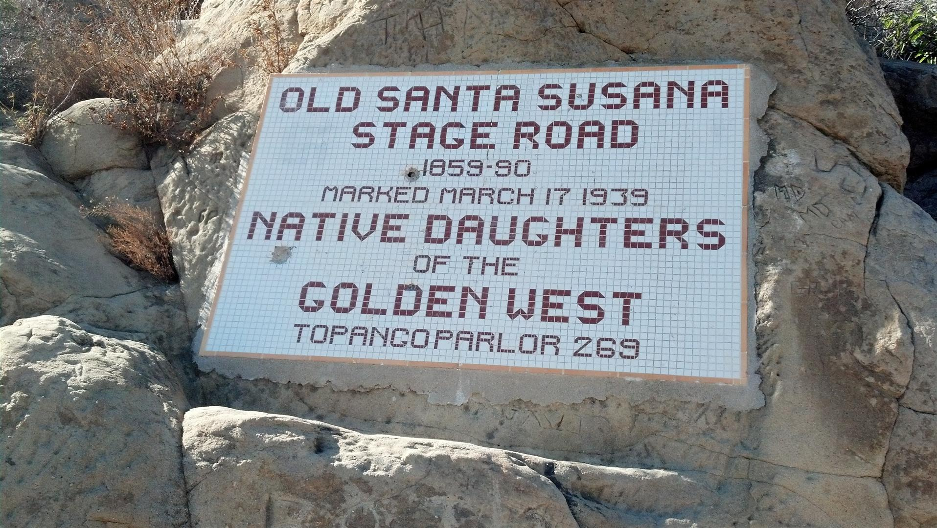 Old Santa Susana Stage Rd Trail - Mountain Biking in Southern CA