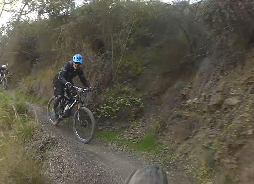 Sullivan Canyon - Pacific Palisades, CA - Mountain Biking in